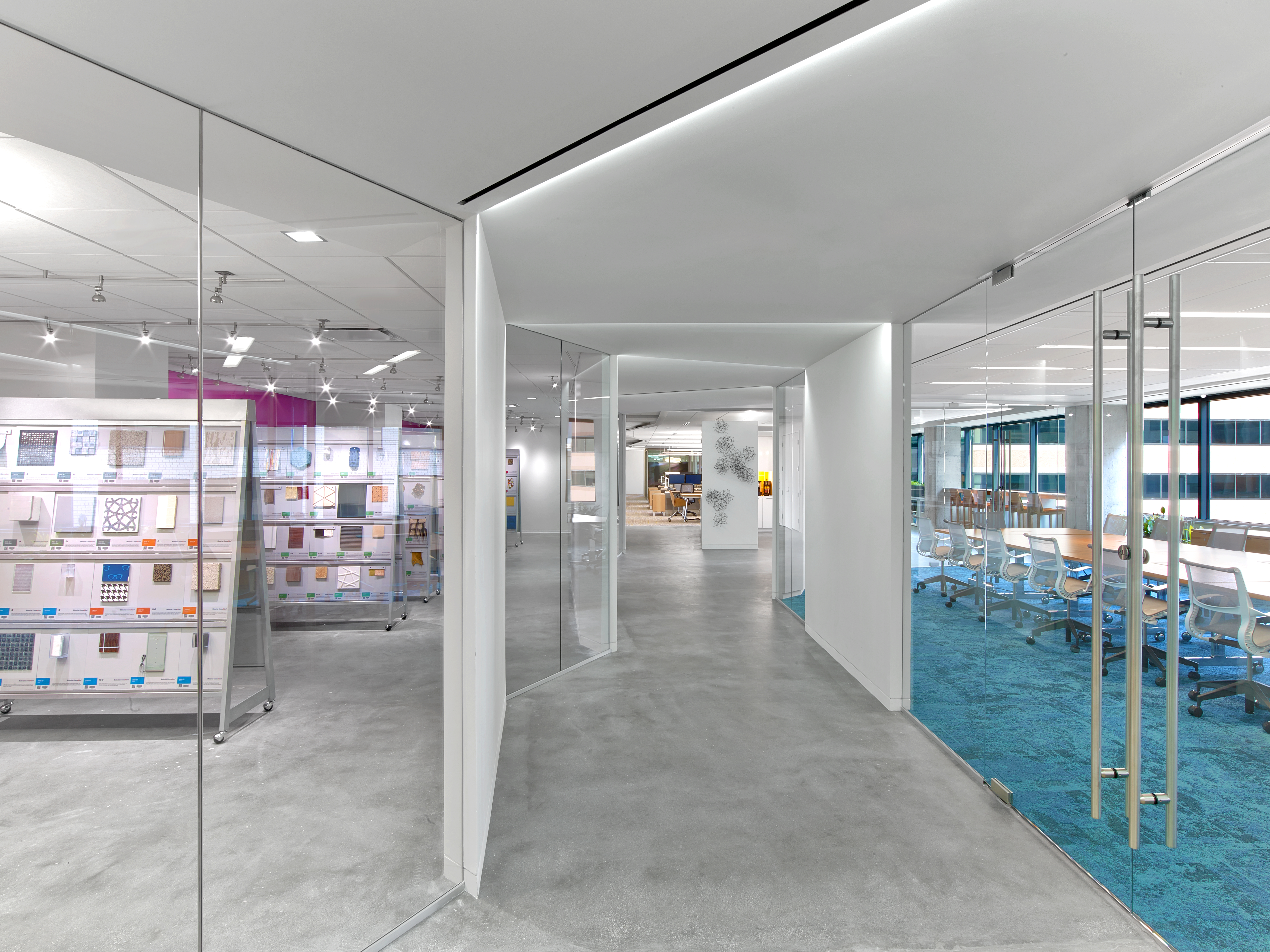 Constructed first double platinum space in the world for ASID Headquarters